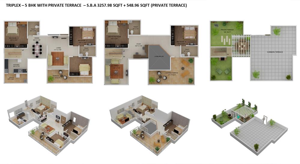 Krishna AquaBay – Master Plan & Floor Plan | Krishna Homes